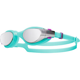 TYR Vesi Googles Women Mirrored Silver/Mint
